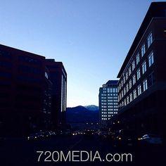 Visit @SpringsBusiness on Facebook http://facebook.com/SpringsBusiness   View of #PikesPeak #downtown #ColoradoSprings #business