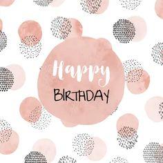 minnie first birthday party Happy Birthday Greetings Friends, Happy Birthday Notes, Happy Birthday Template, Cute Birthday Cards, Happy Birthday Pictures, Birthday Blessings, Birthday Wishes Quotes, Happy Wishes, Happy Birthday Card Design