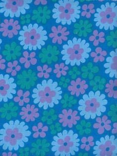 modflowers: vintage Finnish fabric