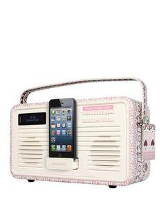 Emma Bridgewater Retro Dab Radio With 30 Pin Dock - Sampler, http://www.very.co.uk/view-quest-emma-bridgewater-retro-dab-radio-with-30-pin-dock-sampler/1337972122.prd