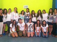 """Equipo de voluntarias en """"Allende Mundi"""" Julio 2013"""
