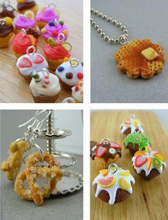 Miniature Food Jewelry: Art by Shay Aaron