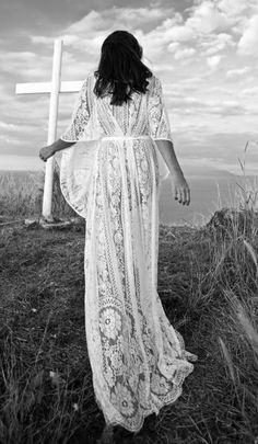 Sheer bohemian dress / Lover - Maybe not sheer....but still a great wedding dress. =]