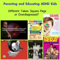 Parenting Advice for ADHD Kids :: PragmaticMom  Good video on the current Ed. System