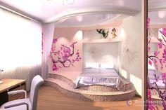 Teen girl bedroom design