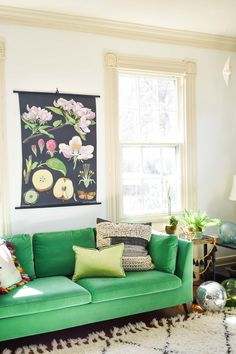 Easy But Impactful Spring Decorating Updates - At Charlotte's House Living Room Decor Traditional, Mid Century Modern Living Room, Spring Home Decor, Dining Room Design, Furniture Makeover, White Trim, Interior Trim, Interior Ideas, Modern Interior