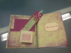 Scrap, handmade, agenda, artesanía, craft, hechoamano, handmade