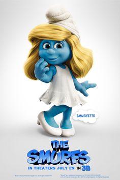Smurfette #blondie #blue #favsmurf
