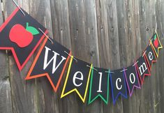 Welcome Banner Decoration - Back to School Class Sign - Teacher Name Gift - Library Sign , Classroom Welcome Banner Decoration - Back to School Class Sign - Teacher Name Gift - Library Sign , Classroom Welcome, Classroom Banner, Welcome Back To School, Classroom Door, Preschool Classroom, Welcome To Class, Preschool Welcome Door, Highschool Classroom Decor, Crayon Themed Classroom