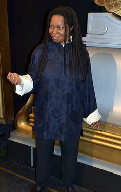 Madame Tussauds - London. Whoopi Goldberg. Black Actresses, Actors & Actresses, Famous Celebrities, Celebs, British Royal Family Members, Tussauds London, Whoopi Goldberg, Wax Museum, Madame Tussauds
