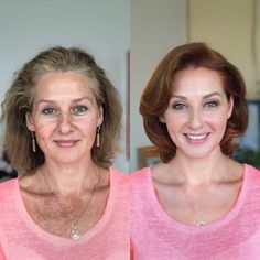 23 Before And After Photos That Shows The Power Of Makeup Here are incredible before and after makeup photos that show not only the power of makeup but also the talent of the makeup artist. Enjoy awesome makeup transformation photos of the day. Makeup Over 50, Makeup For Older Women, Makeup To Look Younger, Makeup Before And After, Before And After Haircut, Beauty Makeover, Power Of Makeup, Best Makeup Tips, Hooded Eye Makeup
