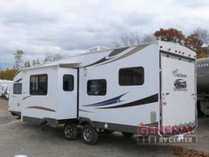 Used 2013 Coachmen RV Freedom Express 301BLDS Toy Hauler Travel Trailer at General RV | White Lake, MI | #117458
