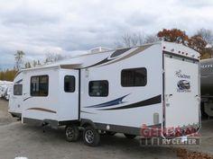 Used 2013 Coachmen RV Freedom Express 301BLDS Toy Hauler Travel Trailer at General RV   White Lake, MI   #117458
