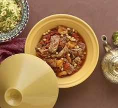 Recepten - Tajine met rundvlees