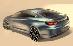 Citroen has handed down a set of new teaser sketches that may represent our first look at the next-generation hatch. Officially, these sketches hint at the new 'C-Quatre' sedan for China, which . Auto Design, Automotive Design, Design Cars, Car Design Sketch, Car Sketch, Industrial Design Sketch, Car Drawings, Automobile, Limousine