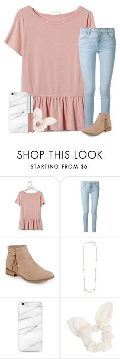 """fri-yay !"" by ashtongg117 ❤ liked on Polyvore featuring Banana Republic, Frame, Journee Collection, Kendra Scott and Dorothy Perkins"