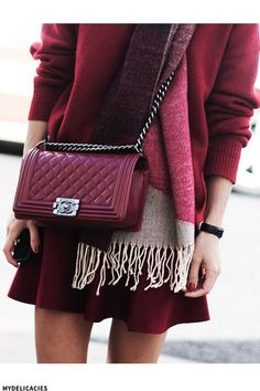 AW's It Colour: Burgundy