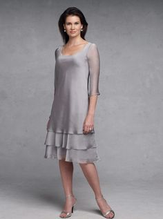 d6a8db8da44 Short mother of the bride dresses. Platinum grey formal dresses for the  mothers of the
