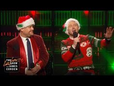 Chris Hardwick and James Corden Perform a Star Wars Themed Parody of 'The Christmas Song'