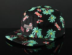 Skate Hi 5-Panel Hat by OFFICIAL