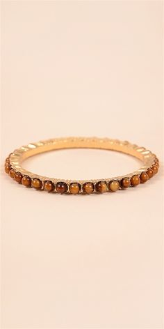 Bead Bangle - TigerAll Jewelry and Accessories are Final Sale.