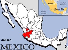 Mexico - Jalisco Map