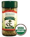 Frontier Organic Oregano Flakes