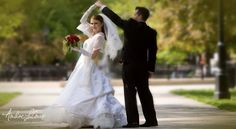 Bride and Groom on their Wedding Day | Andre LaCour Photography