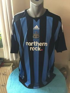 NEWCASTLE UNITED FC Football Shirt 2009 10 Soccer Jersey Trikot Maillot  Camiseta  adidas Newcastle 3a774d4a9