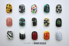 Yayoi Kusama nails