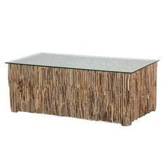 seashore driftwood coffee table by adventino | notonthehighstreet.com
