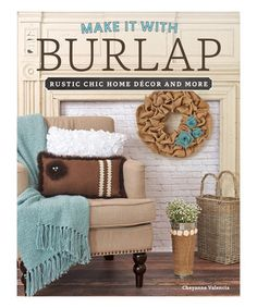 Love this Make It With Burlap Paperback on #zulily! #zulilyfinds