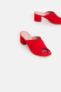9227a9f6cdb F-6125 Ante Mules Red Wonders