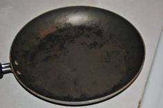 the Burnt Pan Solution: Water +1/4th vinegar + baking soda-- works like a charm with a little scrubbing .. even on Analon Non-stick!!!!!