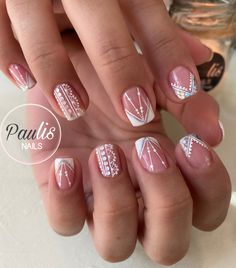 French Manicure Nail Designs, French Tip Nails, Wow Nails, Nail Time, Elegant Nails, Nail Spa, Beauty, Pretty Nails, Gorgeous Nails