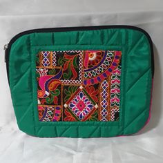 Quilted ipad Sleeve.