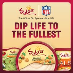 Just got my coupon and entered Sabra's Ultimate Tailgating Sweepstakes! Enter for your chance to win more than a thousand prizes! http://sabradiplife.com/
