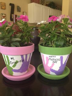 MOTHERS DAY FLOWER POT   Mother's Day Flower Pots!!!