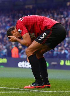 Rio Ferdinand Photo - Manchester City v Manchester United - Premier League