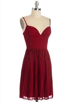 Looking Red Haute Dress in Rouge | Mod Retro Vintage Dresses | ModCloth.com