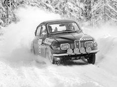 SAAB 96 Rally // classic and vintage automotive design