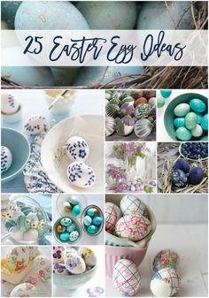 Gorgeous Easter egg ideas