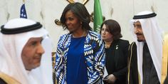 RIYADH, Saudi Arabia (AP) — Michelle Obama Forgoes Headscarf In Saudi Arabia  For first lady Michelle Obama, just a few hours in Saudi Arabia were enough to illustrate the stark limitations under which Saudi women live.