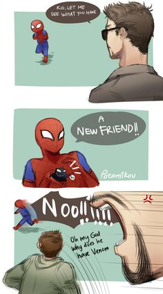 """Potamikou: """"today brought to you by my procrastination """" marvel marvel universe Avengers Humor, Marvel Avengers, Marvel Comics, Marvel Jokes, Captain Marvel, Marvel Fanart, Hero Marvel, Funny Marvel Memes, Bd Comics"""