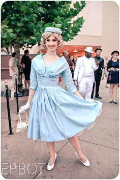 Walt Disney World's Dapper Day, Pin Up Outfits, Disney Outfits, Chic Outfits, Disney Clothes, Disney Fashion, Dapper Day Disneyland, Disney Dapper Day, Disney Costumes, Adult Costumes