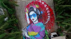 "The Dreamer LDN — ""Koibito""new mural by finbarr dac in Seaforth,..."