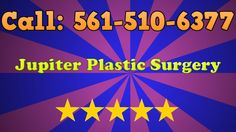 Jupiter Plastic Surgery is dedicated to serving the Jupiter area with a dedicated service. We offer both plastic surgery and reconstructive surgery so we can take care of all your needs, regardless of the situation you are in. Simply give us a call and we'll walk you through the whole process with the best plastic surgeon in Jupiter, FL! Our phone number is (561) 510-6377.