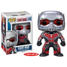 Giant Man Pop Vinyl & Dorbz Officially Revealed and Preorder Info