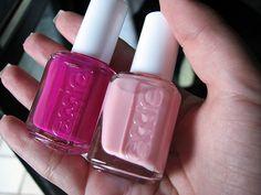 pink nail polish!  #
