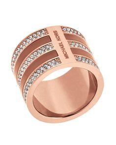 Michael Kors Pave Barrel Ring